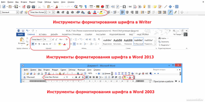 Tekstformateringsknapper