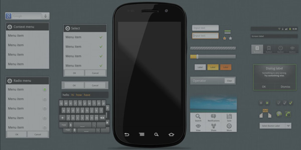 android gui 2 15 Fresh And Free Download GUI Kits for Android Developers