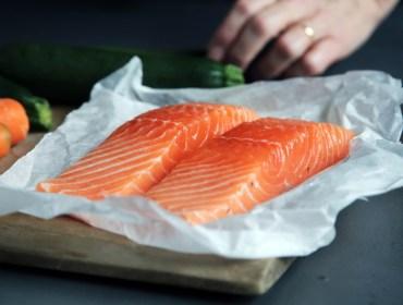 Raw Salmon for Crudo