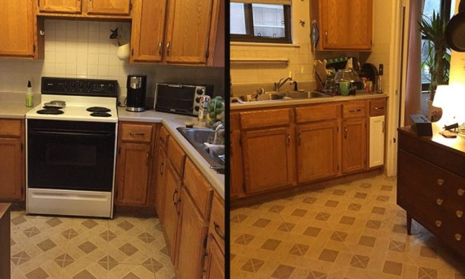 $100 two-weekend kitchen makeover!