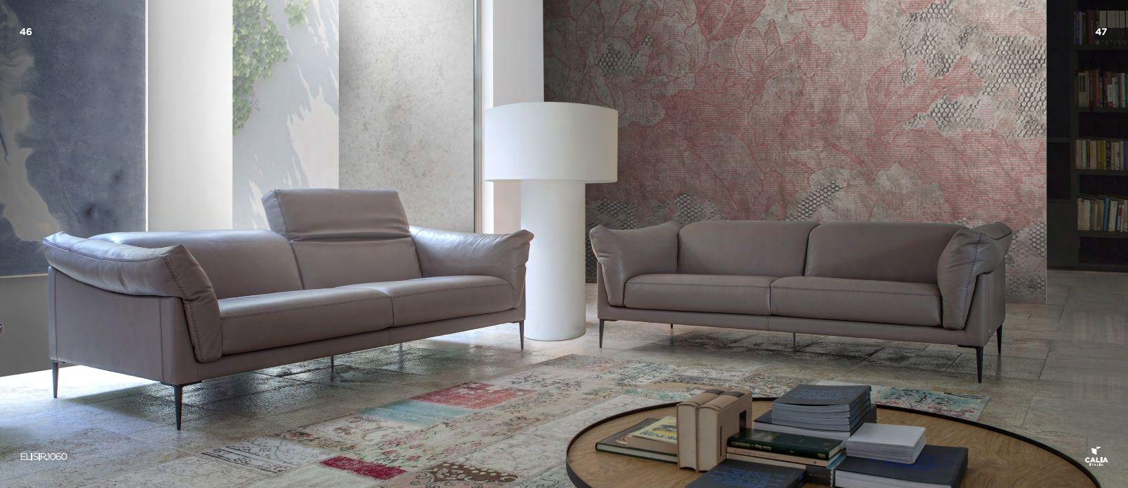 Italian Sofas Upholstered Furniture Calia Italia ELISIR