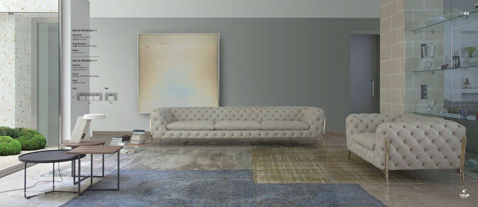 upholstered furniture calia italia belle epoque 1014 series