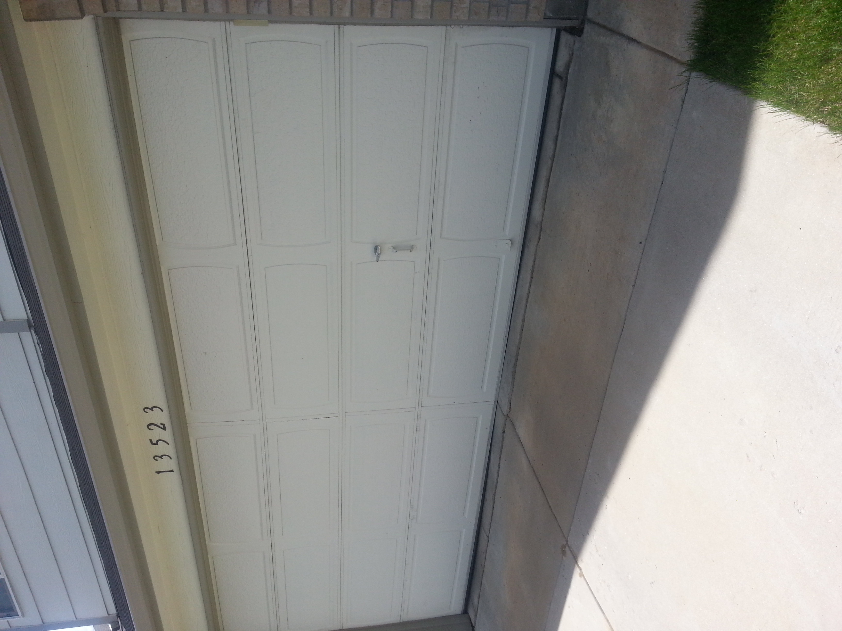 garage door stuck off track garage door repair arvada