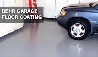 Behr Garage Floor Coating And Paint For Repair