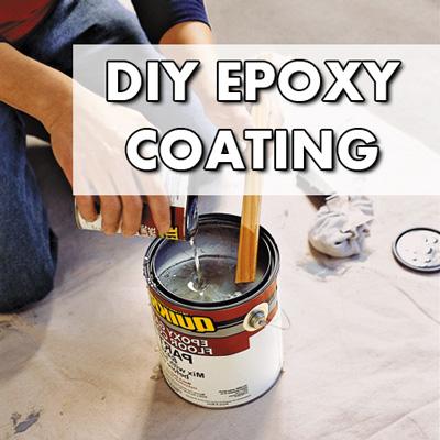 DIY Garage Floor Coating Understanding Epoxy Coatings