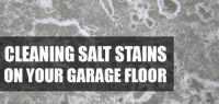 How To Clean Winter Salt Stains From Your Garage Floor