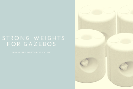 weights for gazebos
