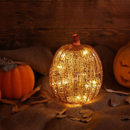 pumpkin lights for your gazebo