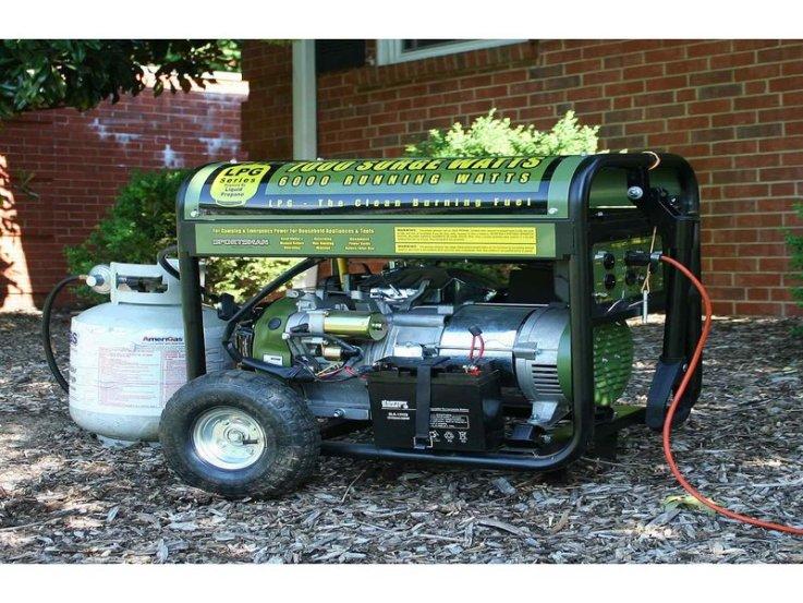 gas power generator
