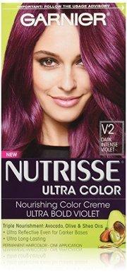 purple hair dye lasting