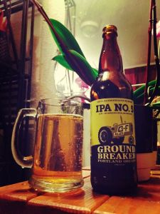 Ground Breaker IPA No 5 gluten free beer reviews
