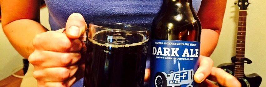 Ground Breaker Dark Ale gluten free beer reviews