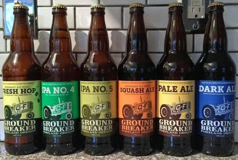 best gluten free beer brands ground breaker brewery