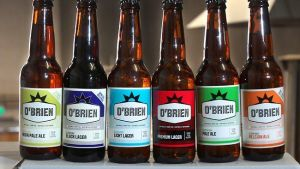 obrien brewing co. gluten free beer