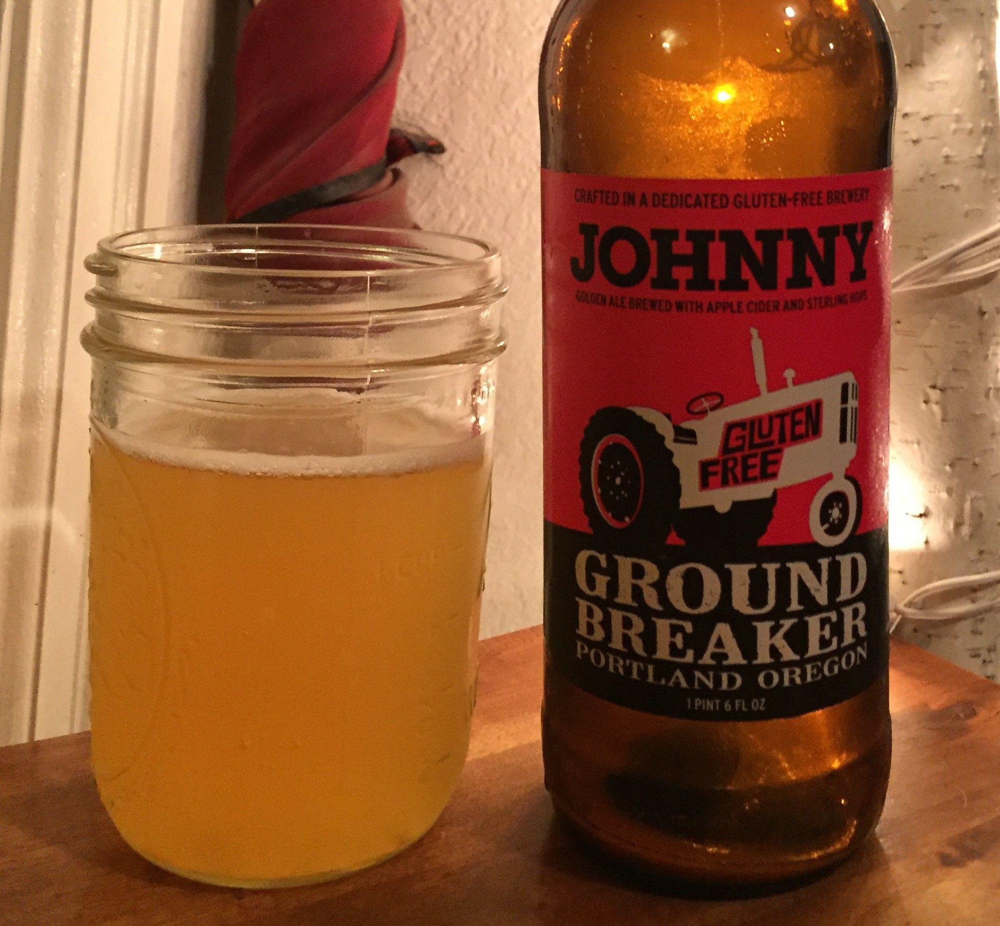 gluten free beer review ground breaker johnny golden ale portland gluten free brewery best gluten free beers