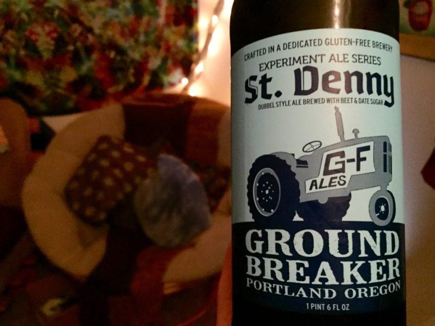 ground breaker dubbel style ale ground breaker brewing company gluten free beer review st denny's belgian ale beet date sugar seasonal brew