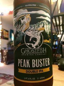 gluten free beer review ghost fish brewing peak buster imperial ipa best gluten free beer brands