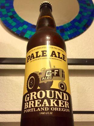 best gluten free beer review ground breaker pale ale