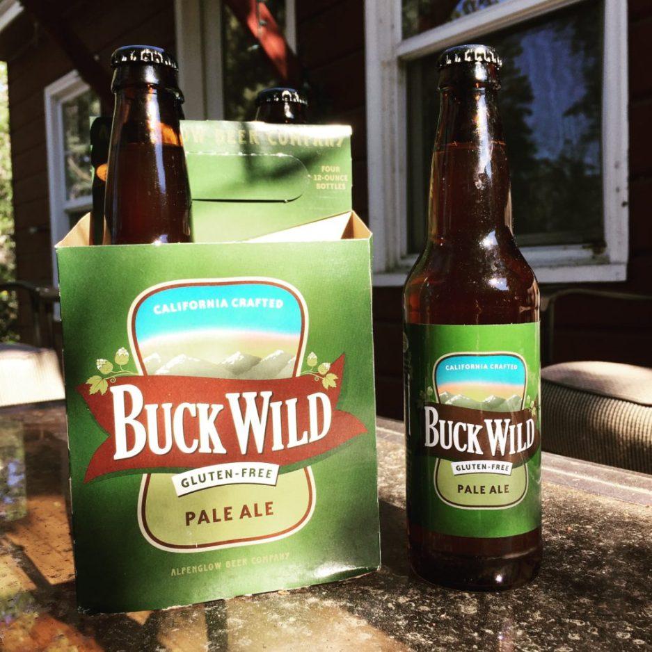 buck wild pale ale alpenglow beer company gluten free beer review