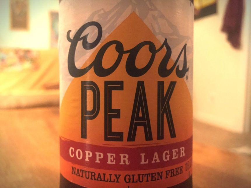gluten free beer reviews coors peak lager