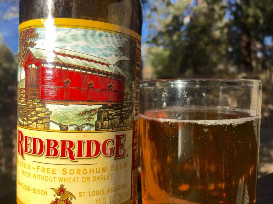Anaheuser-Busch redbridge gluten free beer review