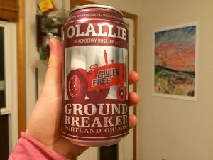 ground breaker brewing gluten free beer spa no. 5 pale dark ale