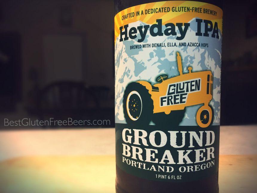 Best Gluten Free Beer Reviews: Ground Breaker Brewing Heyday IPA