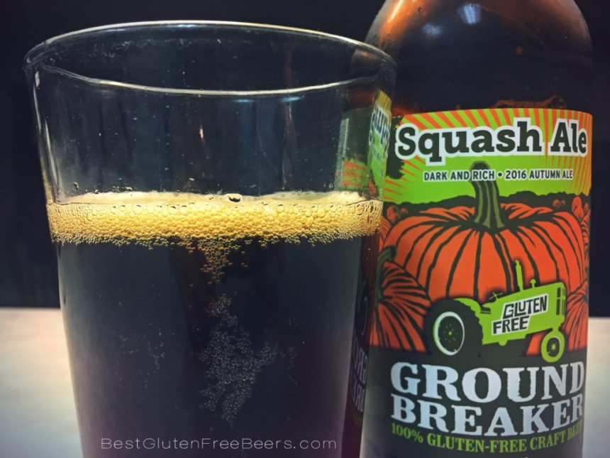 ground breaker brewing squash ale beer review