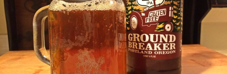 gluten free beer review ground breaker brewing route 20 ipa