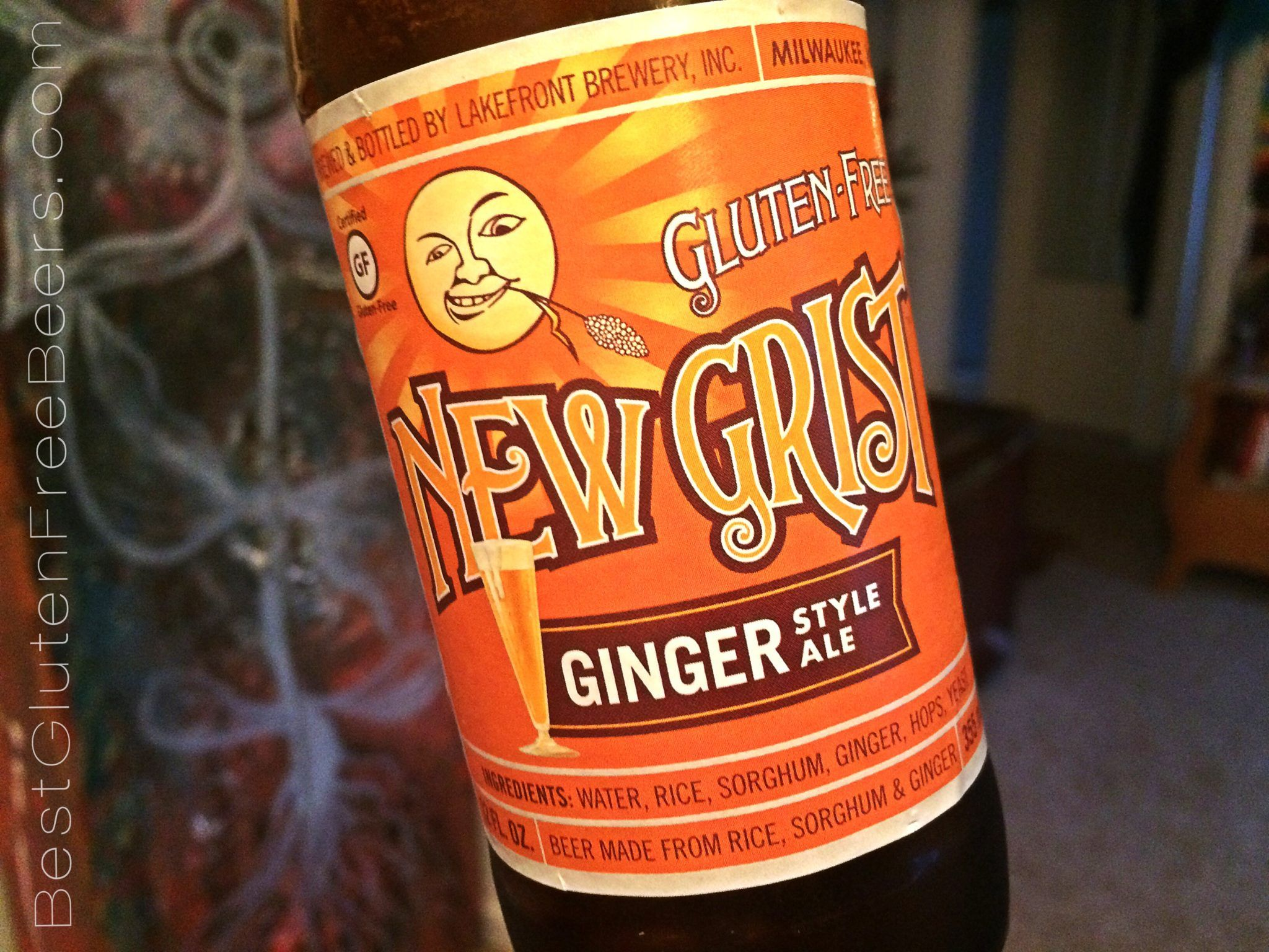 lakefront brewery new grist ginger ale
