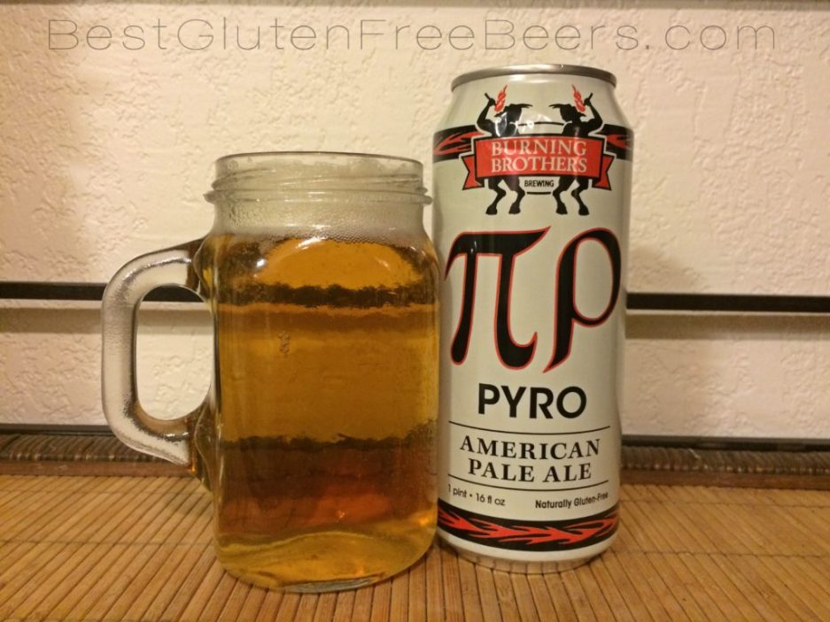burning brothers brewing pyro american pale ale gluten free beer review