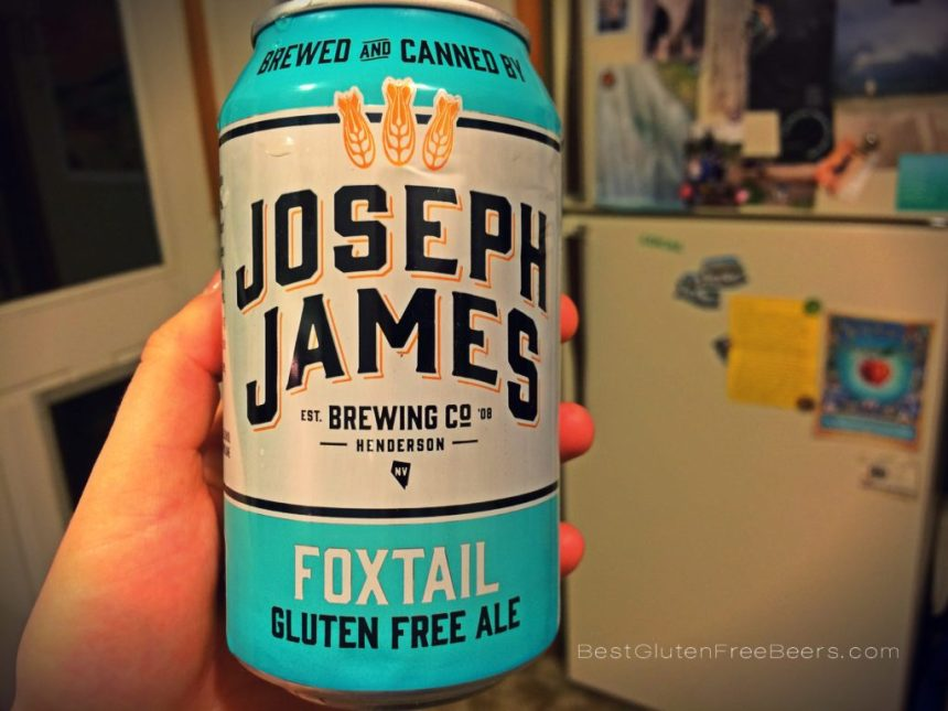 Gluten Free Beer Review: Joseph James Brewing Foxtail Pale Ale