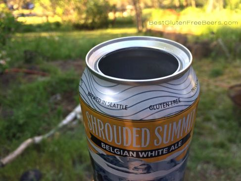 Ghostfish Brewing Shrouded Summit Belgian White Ale Gluten Free Beer Review
