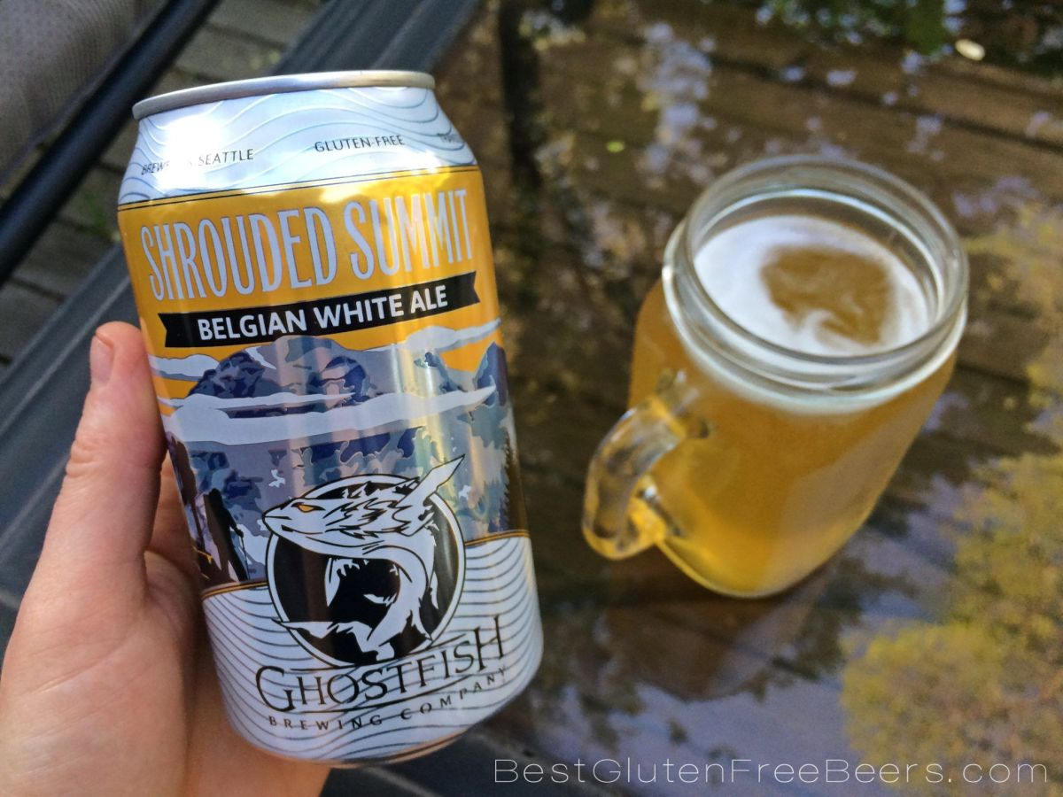 Ghostfish Brewing Shrouded Summit Belgian White Ale