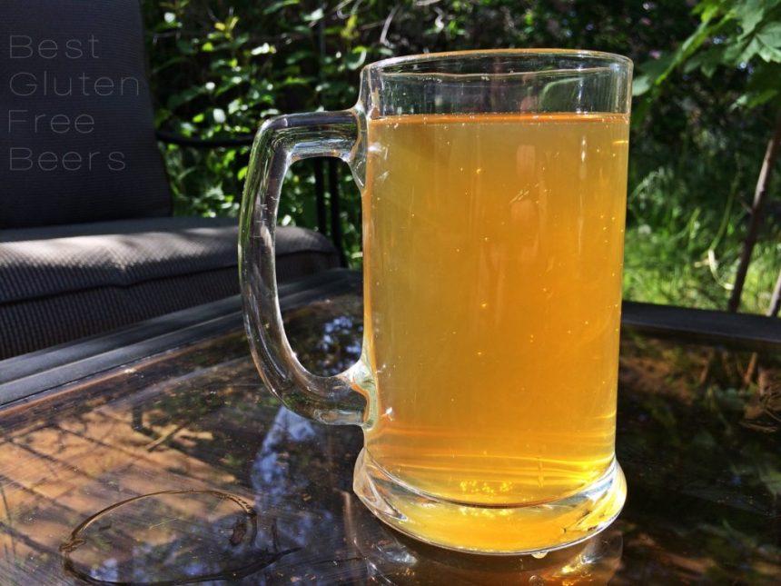 Ghostfish Brewing Meteor Shower Blonde Ale - Gluten Free Beer Review