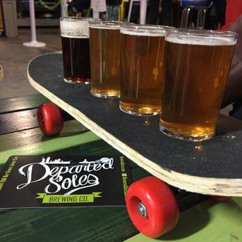 departed soles brewing company gluten free beer
