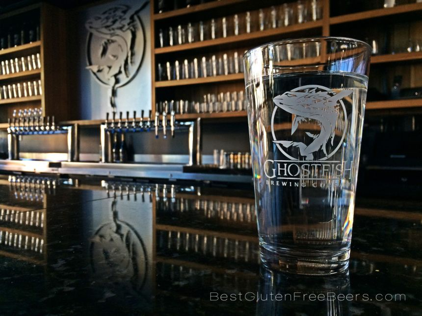 ghostfish brewing taproom gluten free beer tour taproom review
