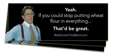 Best Gluten Free Beers Stickers