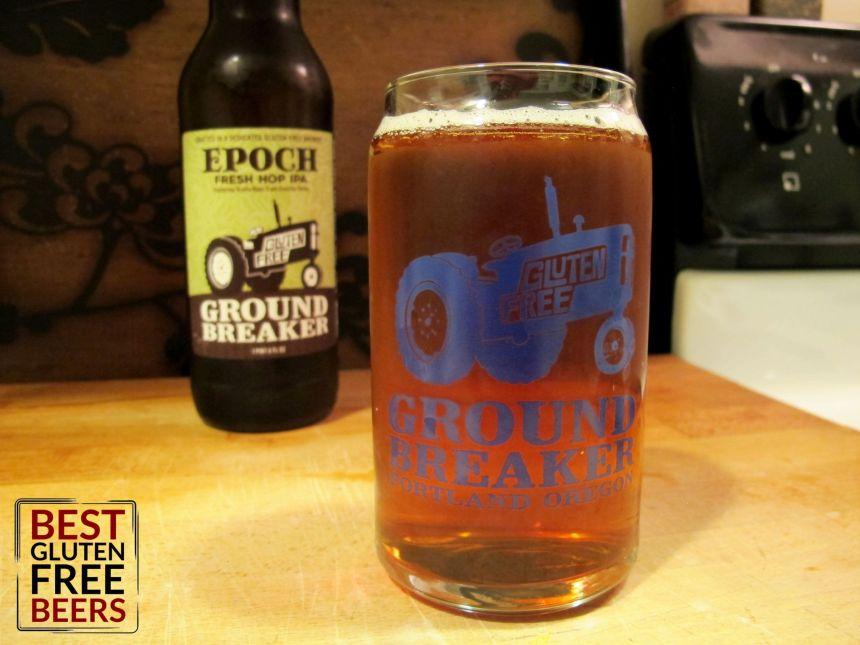 Ground Breaker Epoch Fresh Hop IPA Gluten Free Beer Review