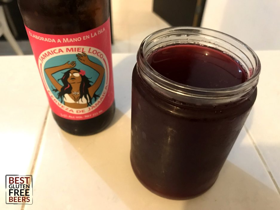 Isla Brewing Company Jamaica Miel Loco Gluten Free Beer Review 2