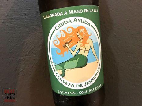 Isla Brewing Company Ginger Beer Cruda Ayuda Gluten Free Beer Review 4