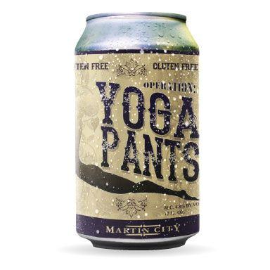 Martin City Brewing Company Operation: Yoga Pants gluten free Golden Ale