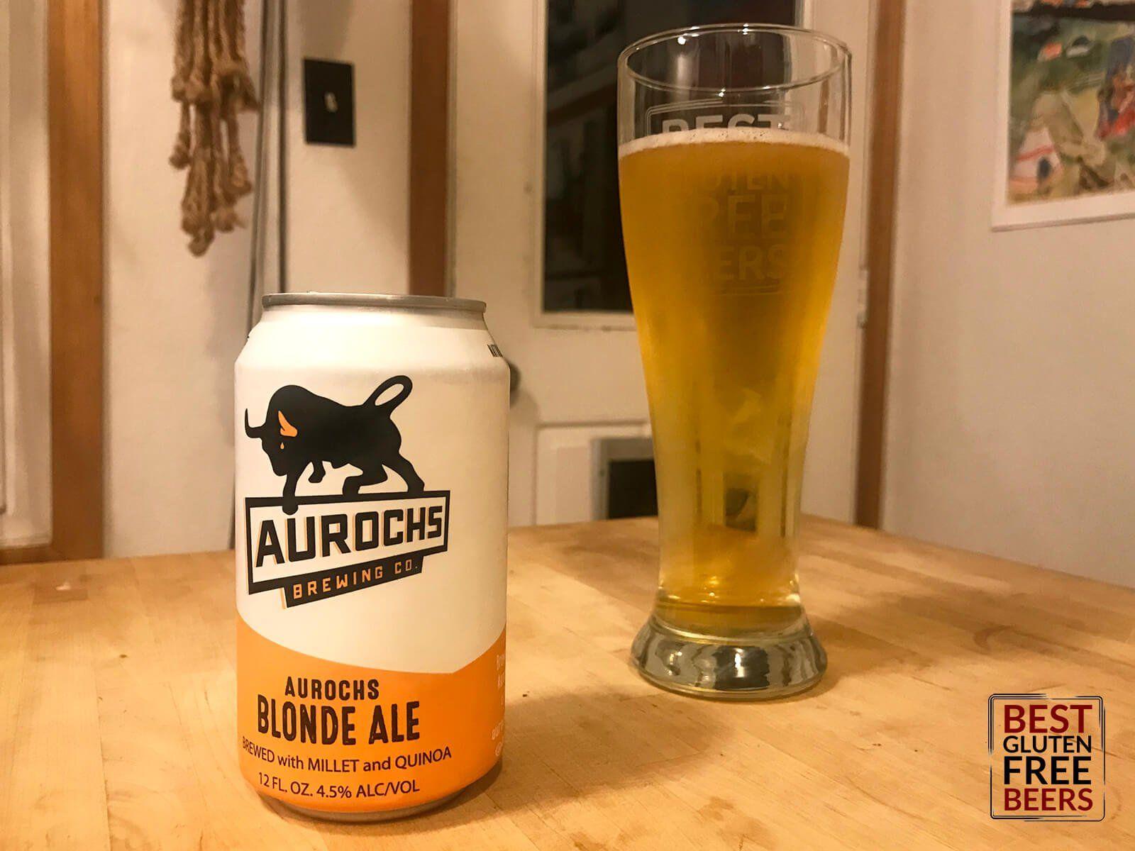 Aurochs Brewing Blonde Ale