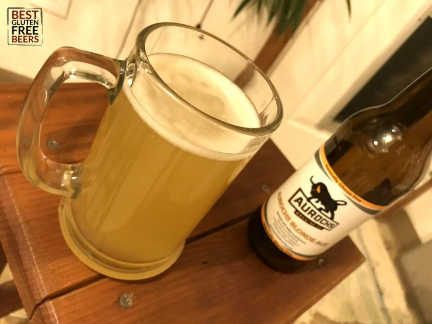 Aurochs Brewing Company Blonde Ale Gluten Free Beer Review