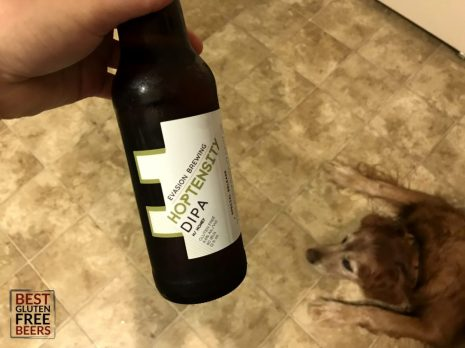 Hoptensity Double IPA by Evasion Brewing