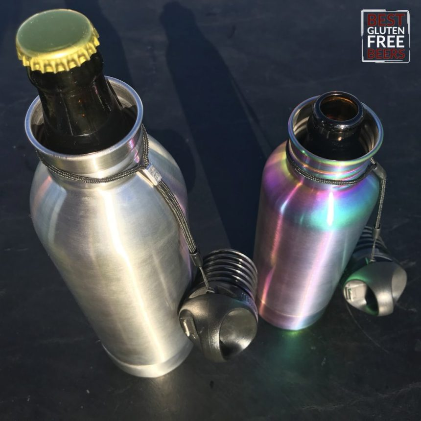 BottleKeeper Keep Your Beer Cold, Beer Bottle Insulator, Best Gluten Free Beers