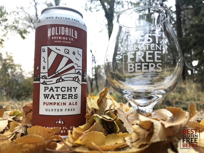 Holidaily Brewing Patchy Waters Pumpkin gluten free beer review