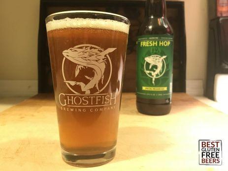 Ghostfish Fresh Hop 2018 gluten free beer reviews