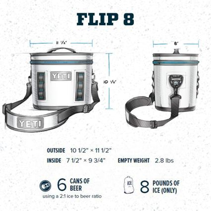YETI Hopper Flip 8 Portable Cooler