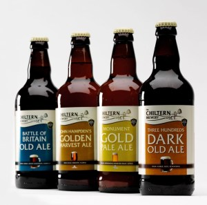Chiltern Brewery gluten free beer gluten reduced beer